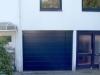 Garagen-Sektionaltor LPU 40 mit Blende und Festelement, Sickenfluchtend, Halstenbek
