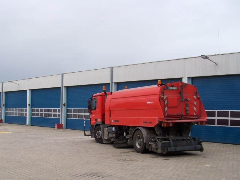 Industriesektionaltor HÖRMANN SPU 40, HH-Flughafen
