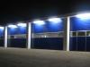 Industriesektionaltor HÖRMANN SPU 40 bei Nacht, Pinneberg